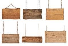Holzschild Stockbilder