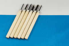 Holzschnittmesser 2 Stockbilder