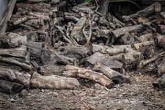 Holzspäne für Brennstoff lizenzfreie stockfotos