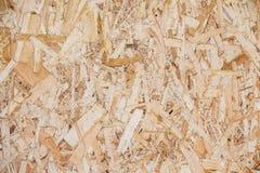 Holzspanplatteoberflächennahaufnahmehintergrund Lizenzfreie Stockbilder