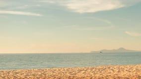 Holzstuhl mit Marineabend chonburi Thailand Stockbild