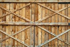 Holztür Stockfoto