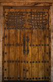 Holztür im Südwesten Stockbilder