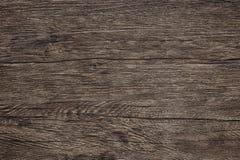 Holztischbeschaffenheit - dunkelbrauner hölzerner Hintergrund lizenzfreie stockfotografie