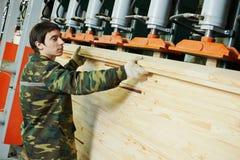 Holzverarbeitungsfertigung Lizenzfreie Stockfotografie