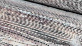 Holzverkleidungen und Bretter eines l?ndlichen Hauses, Italien stock video