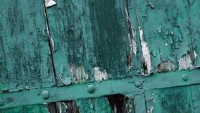 Holzverkleidungen und Bretter eines l?ndlichen Hauses, Italien stock footage