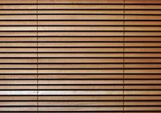 Holzvorhänge Lizenzfreie Stockfotos