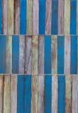 Holzwand der abstrakten Kunst Farb Lizenzfreies Stockfoto