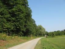 Holzweg Lizenzfreies Stockfoto