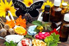 Homéopathie images libres de droits