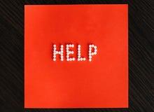 Homéopathie d'aide Photographie stock libre de droits