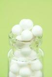 Homöopathische Pillen Stockbild