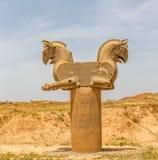 Homa-Vogel in Persepolis Lizenzfreie Stockbilder