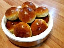 Homade小圆面包 免版税库存图片
