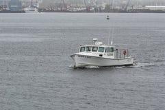 Homar Sherri & Deke łódkowaty kłoszenie dla myszołowów Trzymać na dystans zdjęcie stock