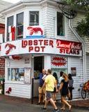 Homara garnek, Provincetown, MA zdjęcie stock