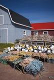 Homara oklepowie, pławiki i arkana, Obraz Royalty Free