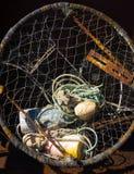 Homara połowu i garnka wyposażenie zdjęcie royalty free