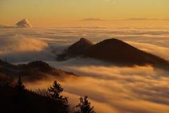 Homberg, Clouds, Selva Marine Royalty Free Stock Photo