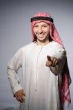 Hombre árabe ilustración del vector