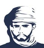 Hombre árabe foto de archivo