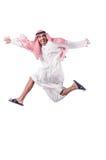 Hombre árabe aislado Foto de archivo libre de regalías