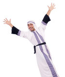 Hombre árabe aislado Fotos de archivo