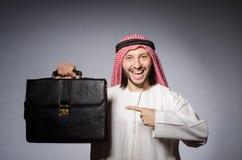 Hombre árabe en diversidad Fotos de archivo