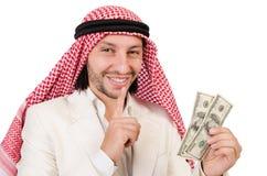 Hombre árabe en diversidad Imagenes de archivo
