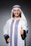 Hombre árabe en diversidad Fotografía de archivo