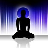 Hombre #2 de la yoga ilustración del vector