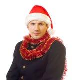 Hombre 7 de Navidad Foto de archivo libre de regalías