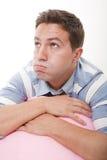 Hombre aburrido Fotografía de archivo
