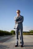 Hombre acertado Imagen de archivo libre de regalías