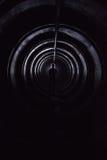 Hombre adentro subterráneo fotos de archivo
