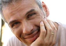 Hombre adulto hermoso Fotos de archivo libres de regalías