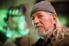 Hombre adulto mayor Fotos de archivo