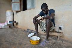 Hombre africano Imágenes de archivo libres de regalías