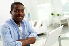 Hombre africano Imagen de archivo libre de regalías