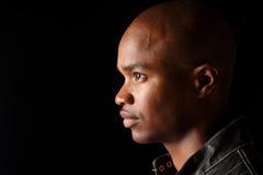 Hombre afroamericano joven. Imagen de archivo