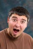 Hombre alegre Fotos de archivo
