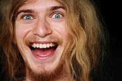 Hombre alegre Imagen de archivo