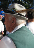 Hombre alemán en sombrero Fotografía de archivo libre de regalías