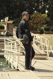 Hombre armado Foto de archivo libre de regalías