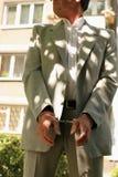 Hombre arrestado foto de archivo libre de regalías