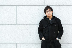 Hombre asiático Fotografía de archivo