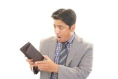 Hombre asiático decepcionado imagen de archivo libre de regalías