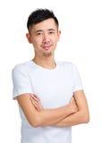 Hombre asiático en casual Imagen de archivo libre de regalías