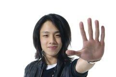 Hombre asiático joven Imagenes de archivo
